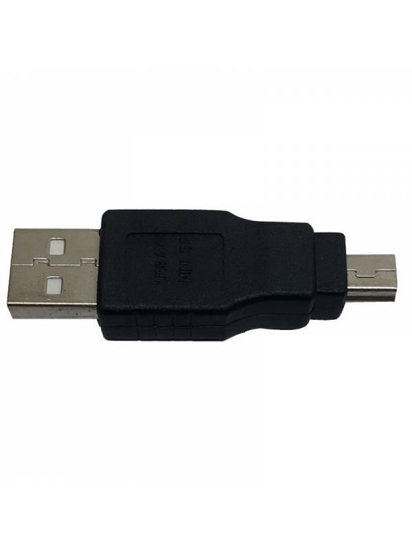 CONVERSOR MINI USB A USB MACHO