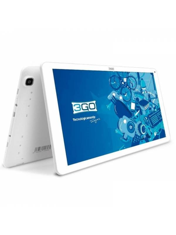 TABLET 10.1 3GO GT10K3 16GB   ANDROID GO IPS BLANCA