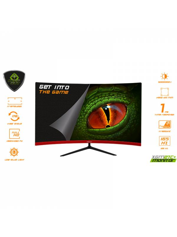 MONITOR 27 KEEP OUT CURVED    GAMING XGM27C+ FHD