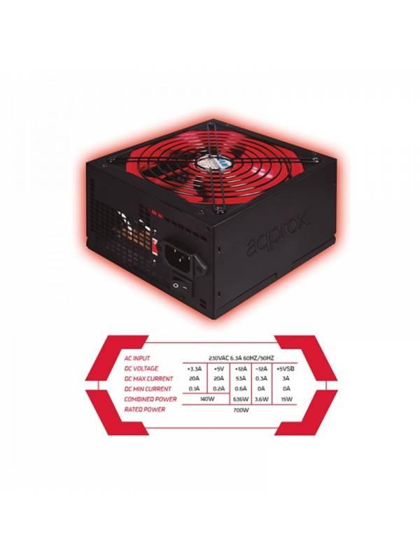FUENTE 700W53A 85% APP700PS   PSU APPROX GAMING