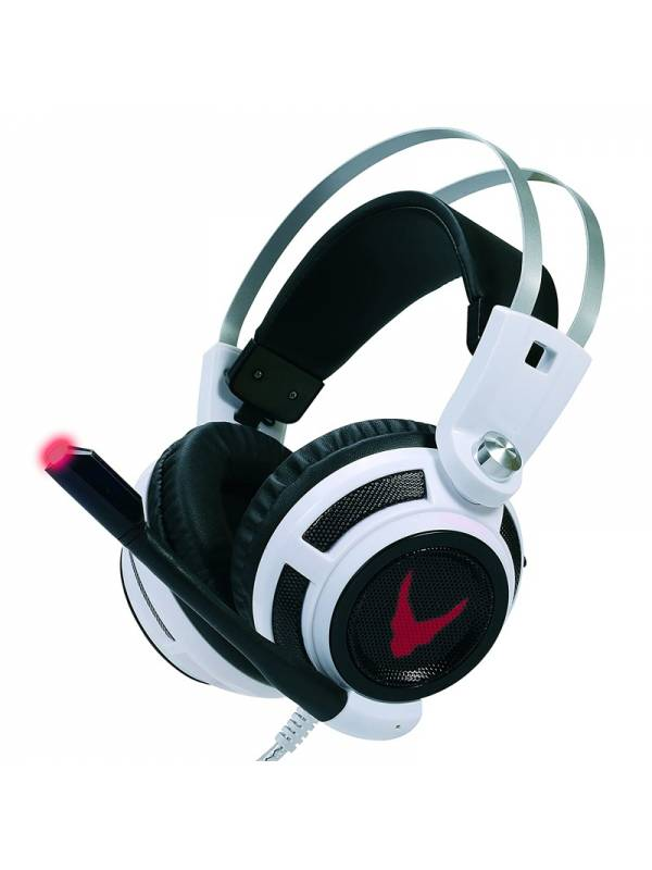 AURI. + MIC 3.5MM OMEGA GAMING  VIBRATION  HEADSET BLANCOS