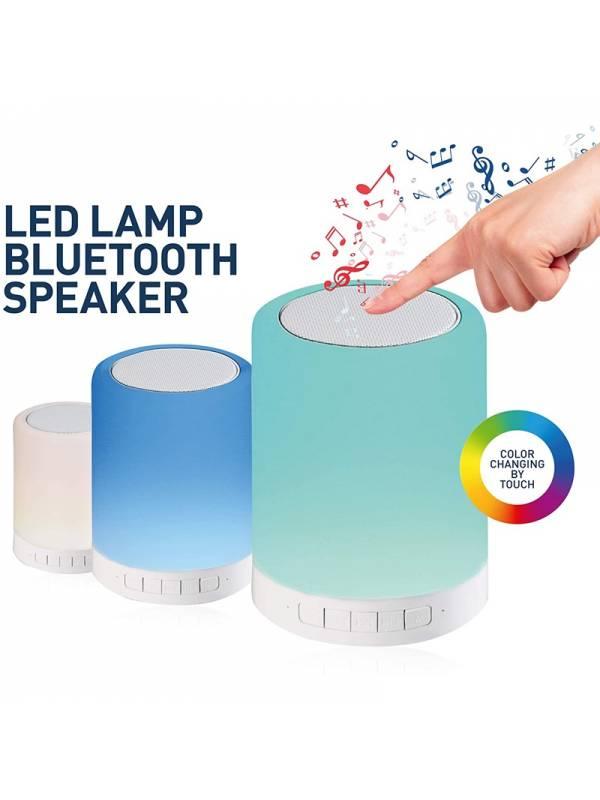 LAMPARA LED  5W BLUETOOTH + AL TAVOZ TACTIL