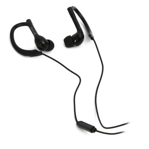 AURI. + MIC 3.5MM PLATINET     SPORT IN EAR NEGRO