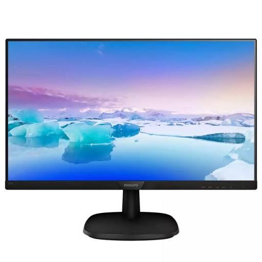 MONITOR 27 PHILIPS 2273VQDSB   FULL HD IPS VGA DVI HDMI NEGR