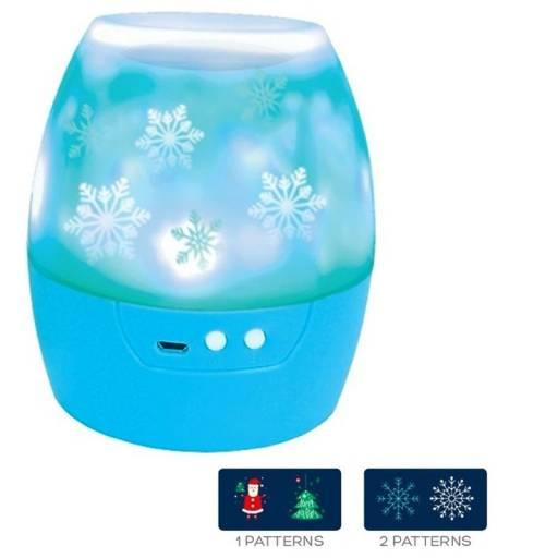 LAMPARA LED  4X1W PROYECTOR    LIGHT NIGHT CHRISMAS OMEGA